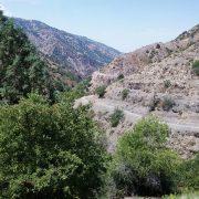 aksak ata valley in summer
